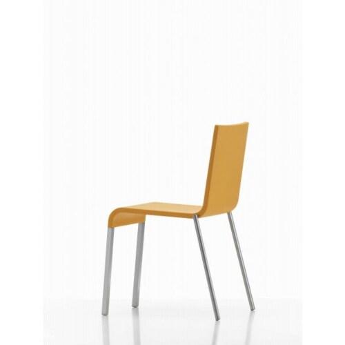Vitra .03 met poedercoating onderstel zilver stoel-Mango