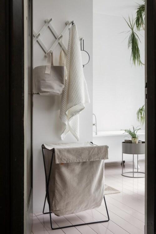 Ferm Living Plant Box rond plantenbak-Warm grijs