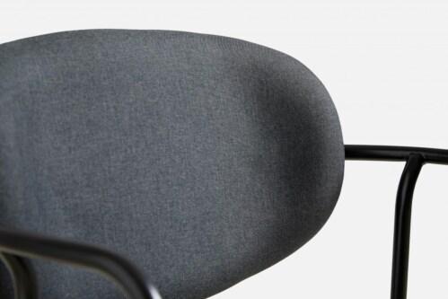 WOUD Frame eetkamerstoel -Dark grey