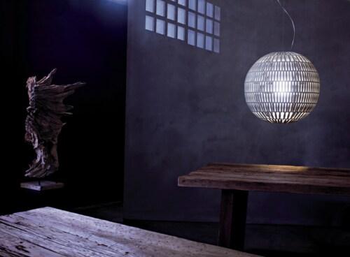 Foscarini Tropico hanglamp-Ice-Sphere