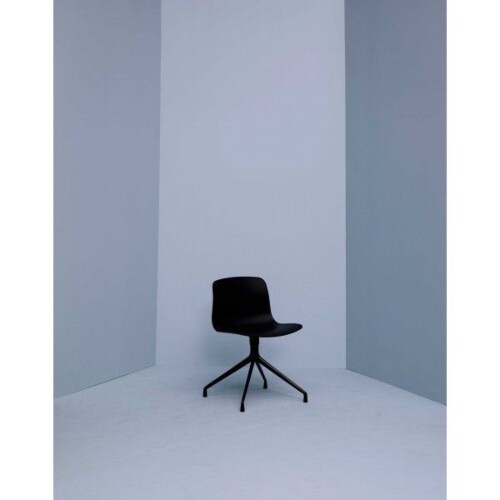 HAY About a Chair AAC10 zwart onderstel stoel-Crème
