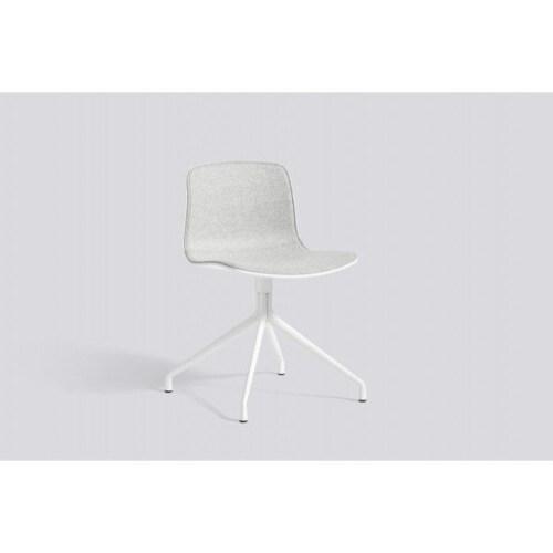 HAY About a Chair AAC10 stof aluminium onderstel stoel-Grijs