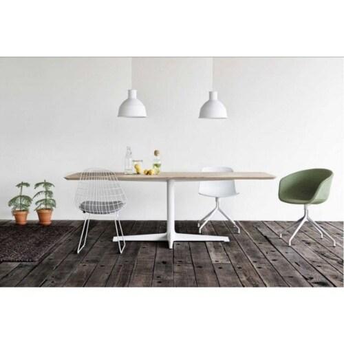 HAY About a Chair AAC10 wit onderstel stoel-Pastel-groen