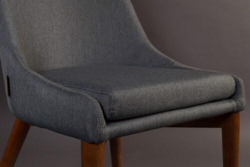 Dutchbone Juju stoel-Grijs