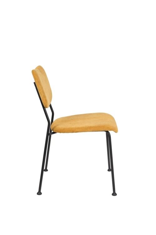 Zuiver Benson stoel eetkamerstoel -Oker geel