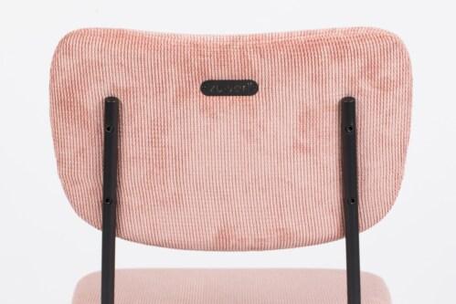 Zuiver Benson stoel eetkamerstoel -Roze