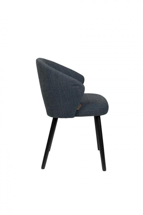 Dutchbone Waldo stoel-Blue