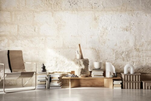 Ferm Living Desert cashmere fauteuil-Soil