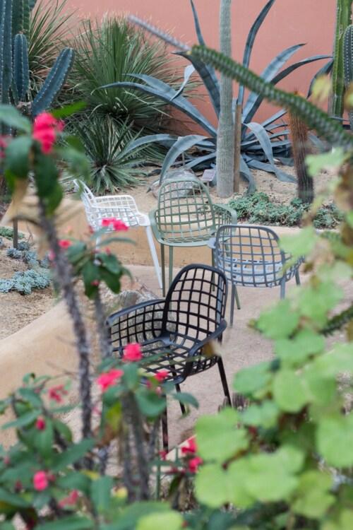 Zuiver Albert Kuip tuinstoel-Wit