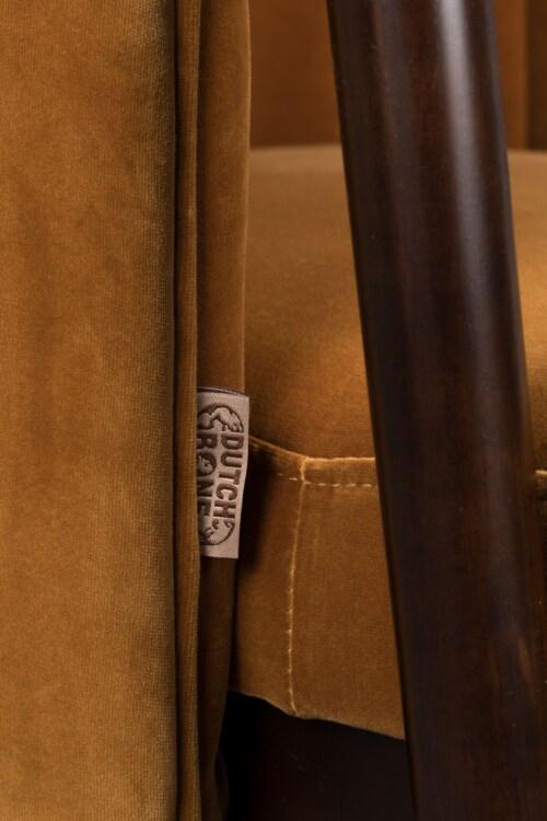 Dutchbone Tammy stoel -Whiskey