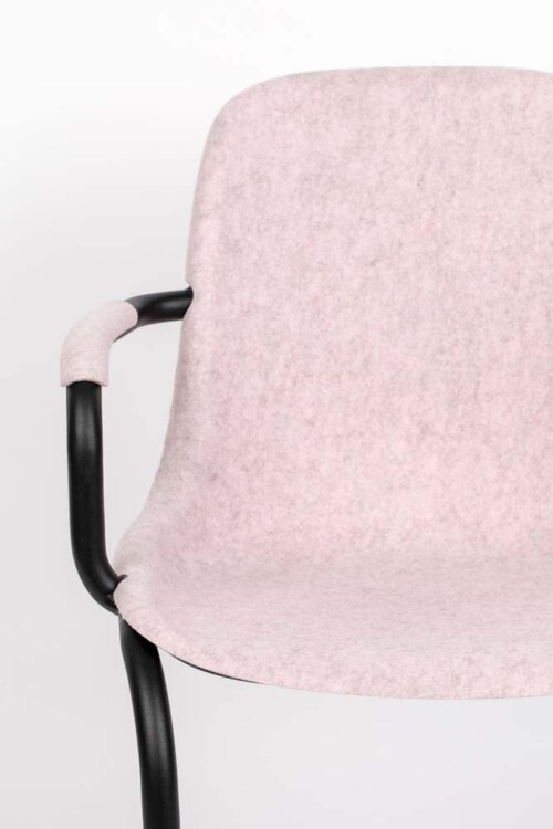 Zuiver Thirsty armstoel-Soft Pink