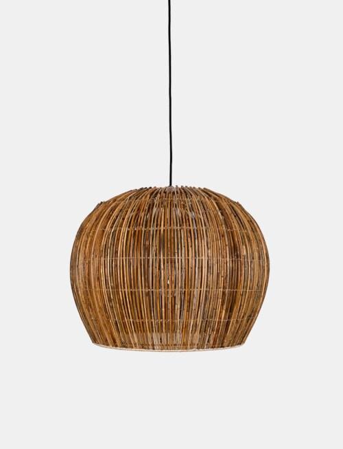 Ay Illuminate Rattan Bell small hanglamp
