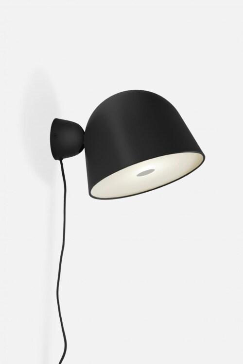 WOUD Kuppi wandlamp-Black