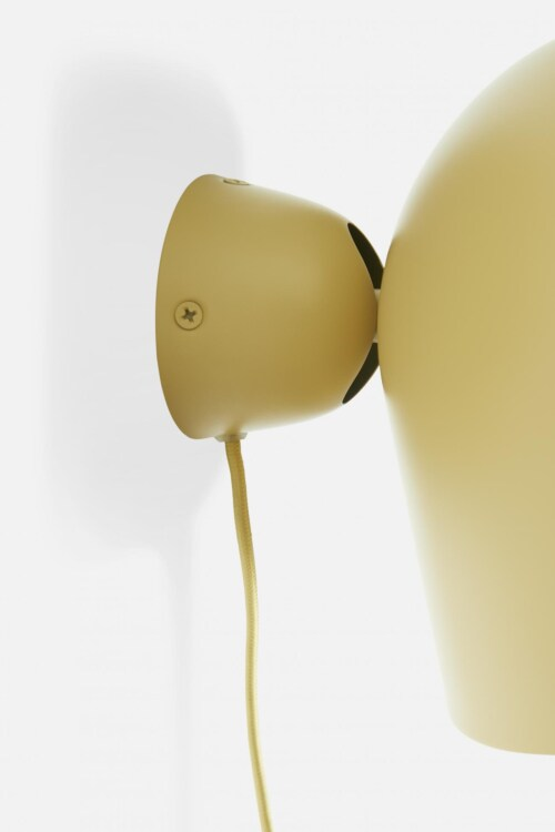 WOUD Kuppi wandlamp-Mustard