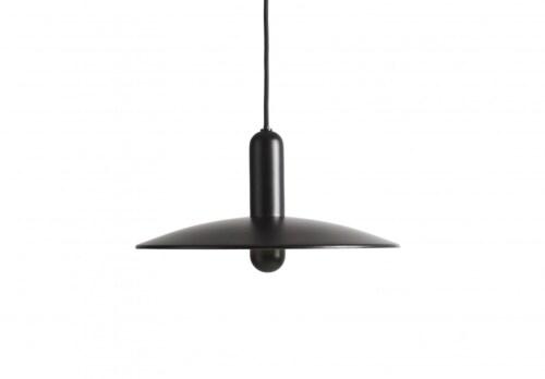 WOUD LU hanglamp-Black-Small