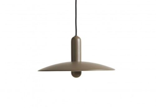 WOUD LU hanglamp-Taupe-Small
