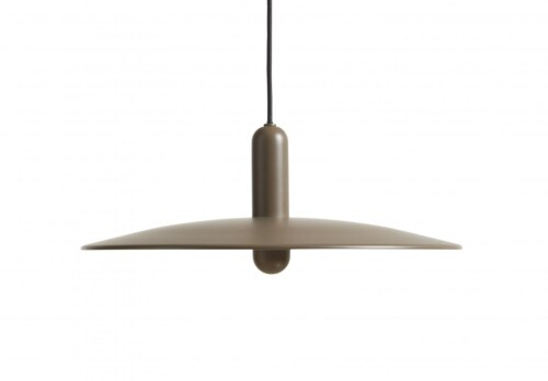 WOUD LU hanglamp-Taupe-Large