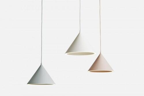 WOUD Annular hanglamp-Nude-Medium