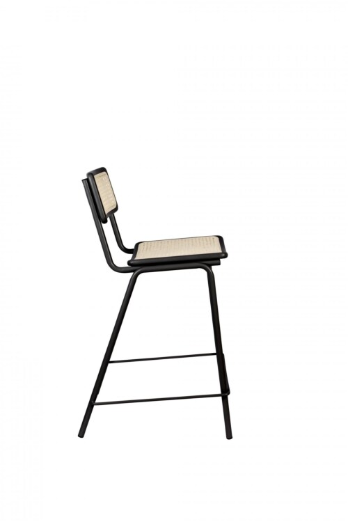 Zuiver Jort Counter stoel-Black