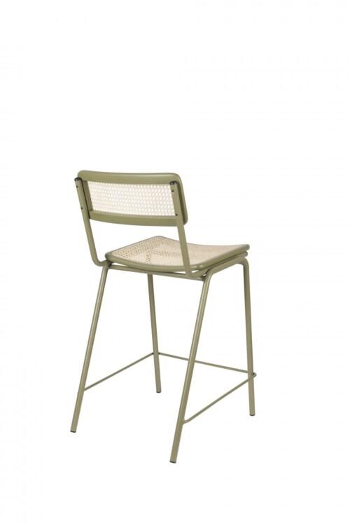 Zuiver Jort Counter stoel-Green