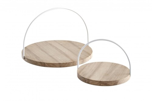 WOUD Loop Tray-White-Small