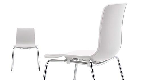 Vitra HAL stapelbare stoel-IJsgrijs