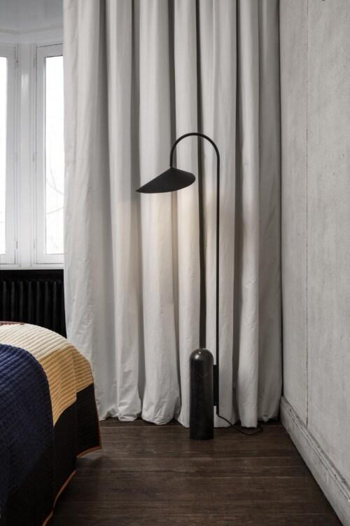 Ferm Living Arum vloerlamp-Black