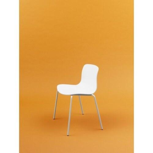 HAY About a Chair AAC16 wit onderstel stoel-Licht grijs