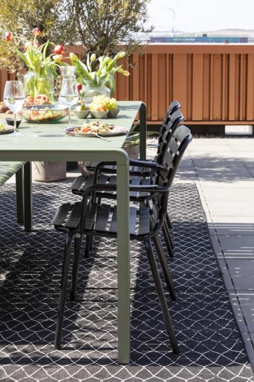 Zuiver Vondel Garden tuinstoel-Black
