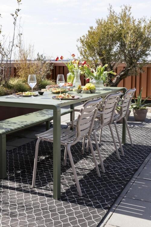 Zuiver Vondel Garden tuinarmstoel-Clay
