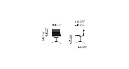 Vitra EA 101 stoel-Hopsak 79