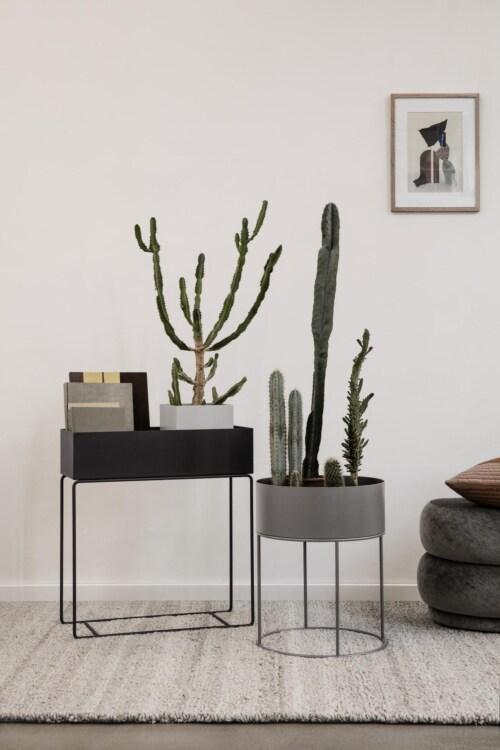 Ferm Living Plant Box Pot-Zwart