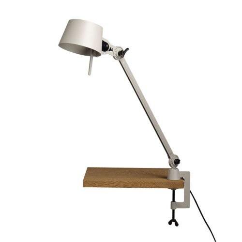 Tonone Bolt 1 Arm Clamp bureaulamp-Pure white