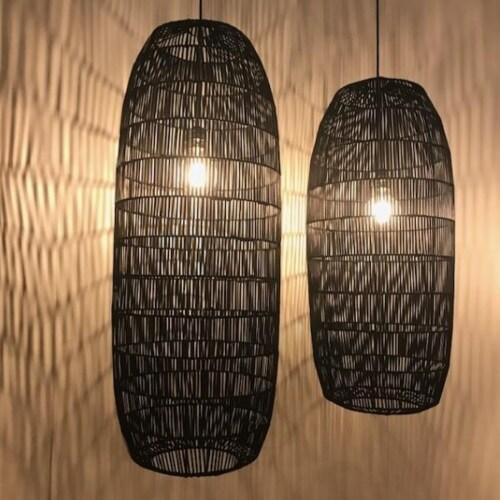 Ay Illuminate Pickle hanglamp-Black-Large