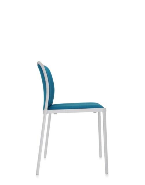 Kartell Audrey Soft wit stoel-Wit-octaangroen-Zonder armleuning