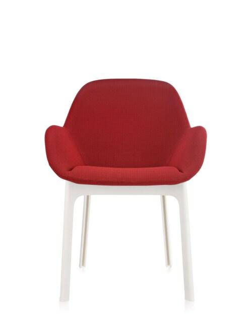 Kartell Clap stoel-Rood-Wit