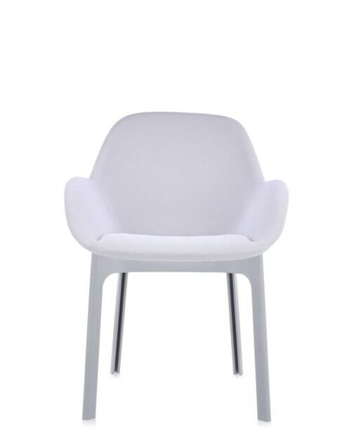 Kartell Clap stoel-Licht grijs-Grijs