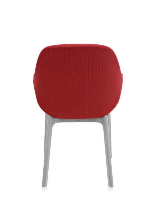 Kartell Clap stoel-Rood-Grijs