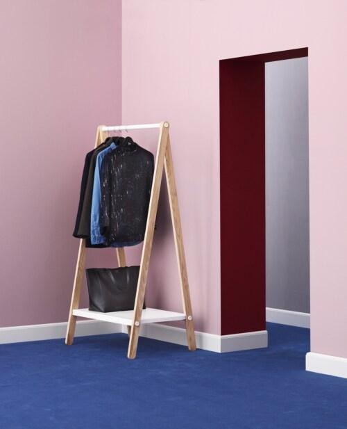 Normann Copenhagen Toj Clothes Rack-Wit-Small