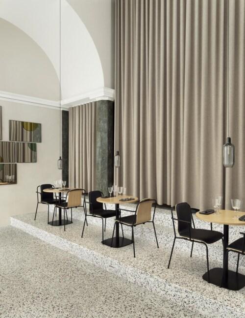 Normann Copenhagen Studio armstoel-Light grey