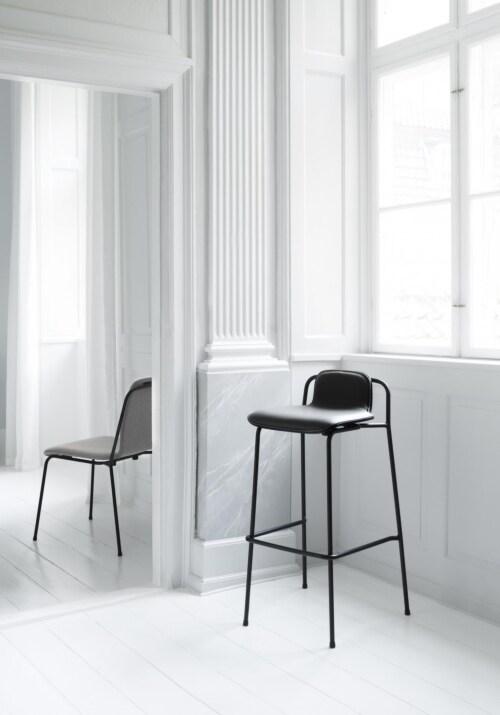 Normann Copenhagen Studio barkruk-Brown-Zithoogte 65 cm