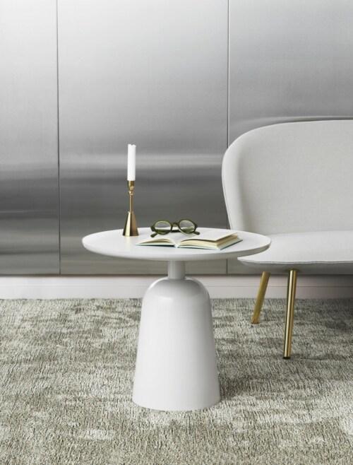 Normann Copenhagen Turn Table bijzettafel-Warm Grey