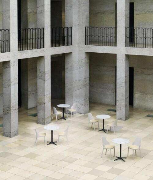 Normann Copenhagen Allez rond 3L tafel-White