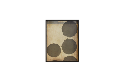 Ethnicraft Silver Dots 46 cm dienblad / tafel-Dienblad