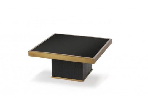 Ethnicraft Trifecta charcoal salontafel-61x61x30 cm