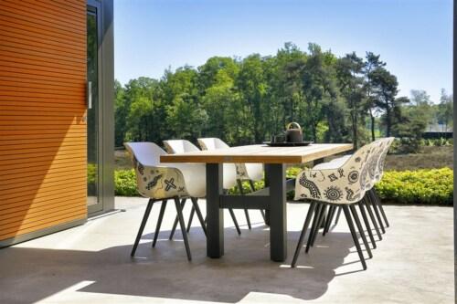 Hartman Sophie Yasmani Brown tafel-180x95 cm-Zwart
