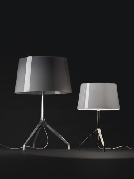 Foscarini Lumiere XXL tafellamp-Aluminium-Grijs