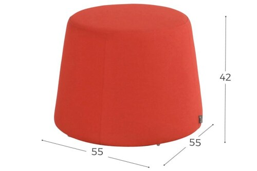 Hartman Trapezium Sunbrella Hocker-Rood