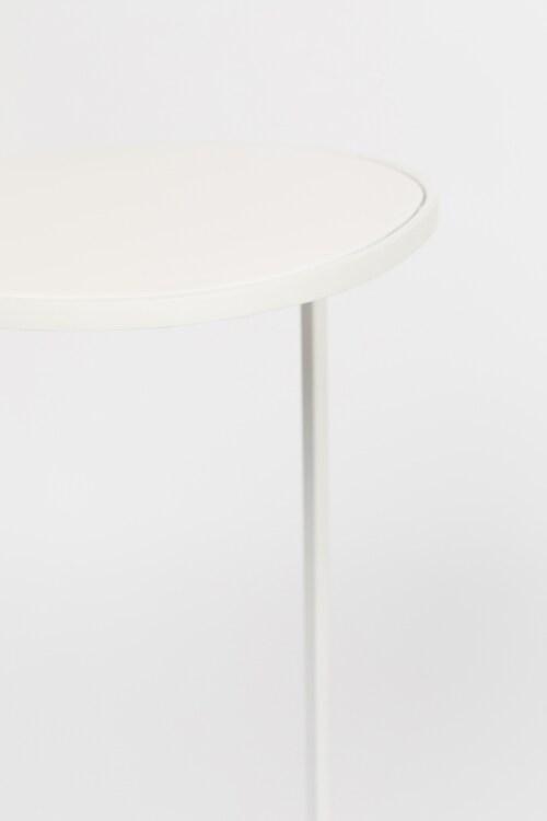 Zuiver Moondrop Single bijzettafel-White