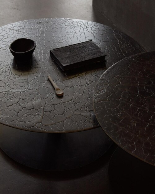 Ethnicraft Sphere salontafel-65x41 cm (Øxh)